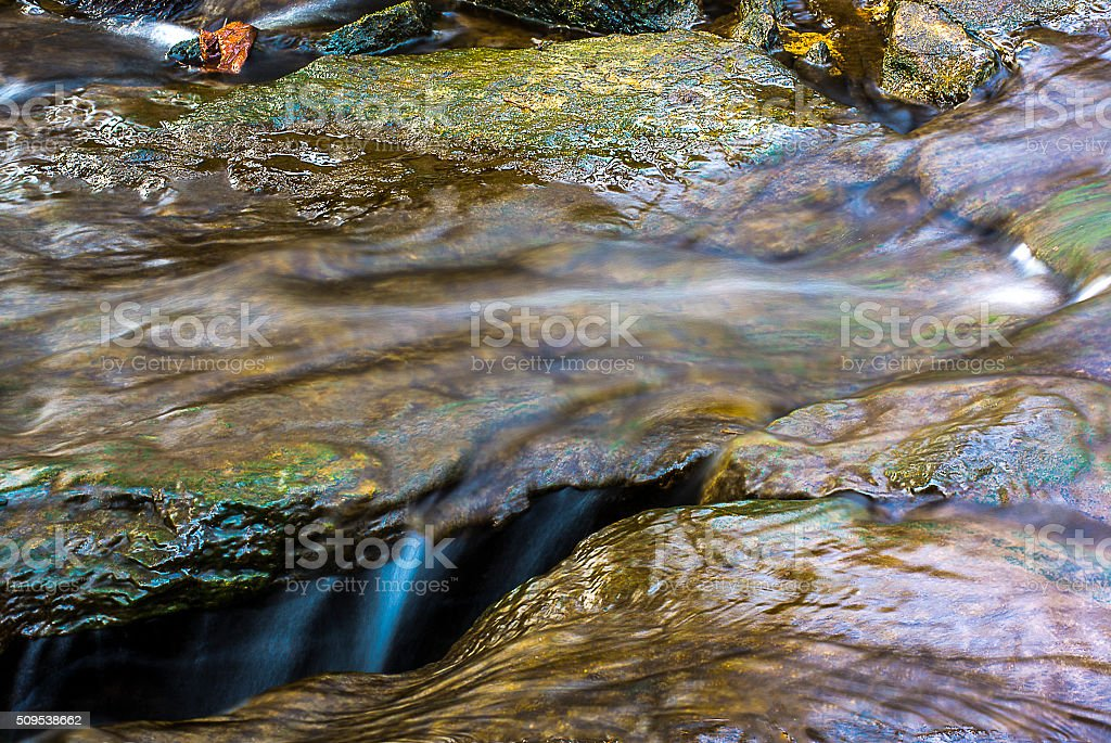 Flowing DownStream stock photo