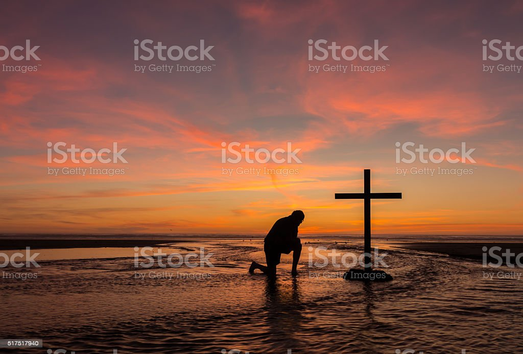 Flowing Prayers stock photo