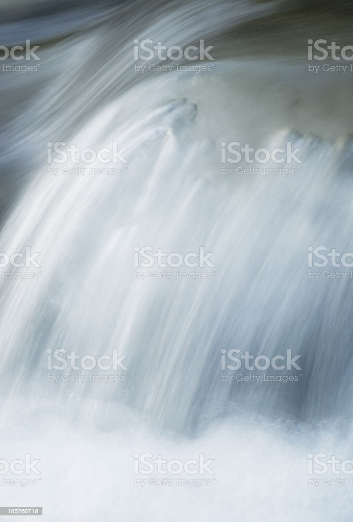 Flowing water abstract stock photo