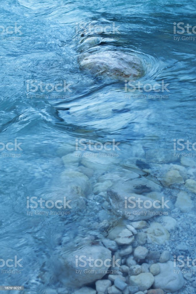 Flowing Water Background royalty-free stock photo