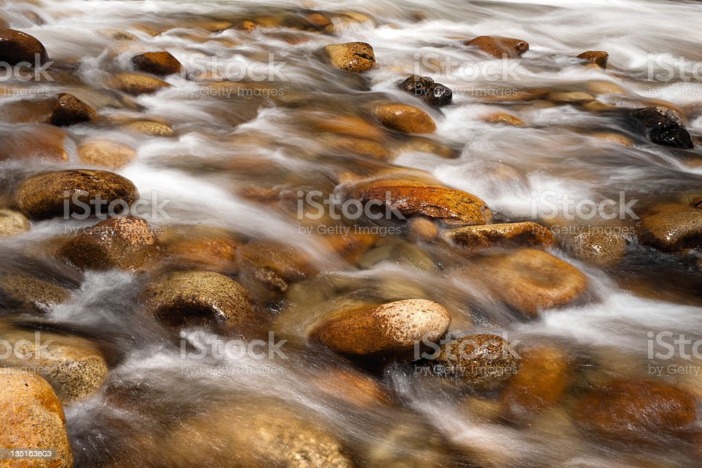 Flowing Water royalty-free stock photo