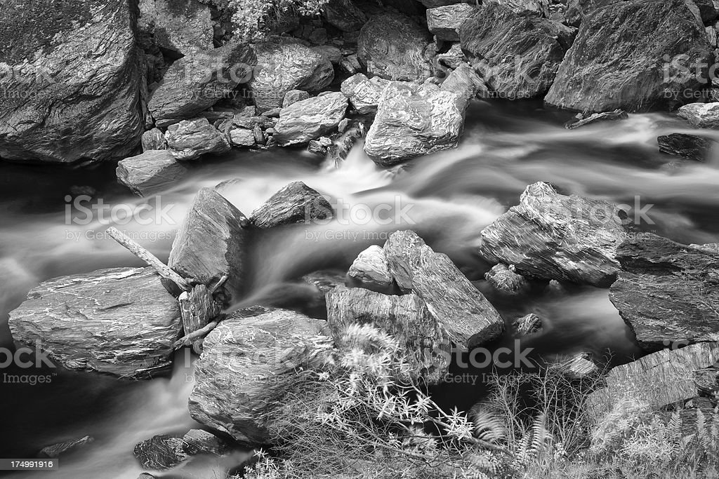 Flowing Waters stock photo