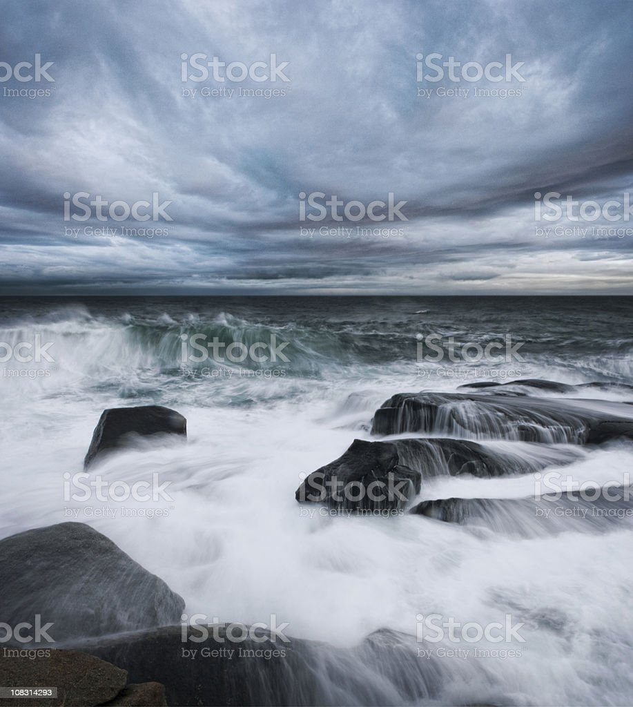 Flowing Waves royalty-free stock photo