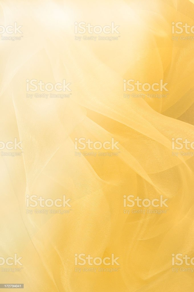 Flowing Yellow Abstract Background royalty-free stock photo