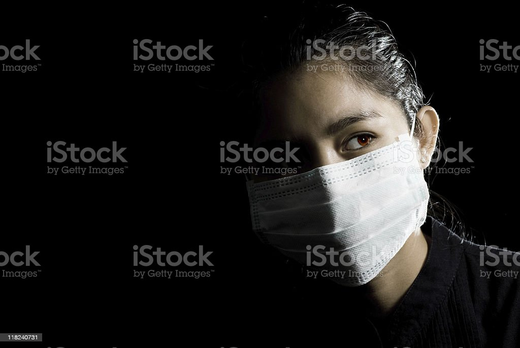 flu protection stock photo