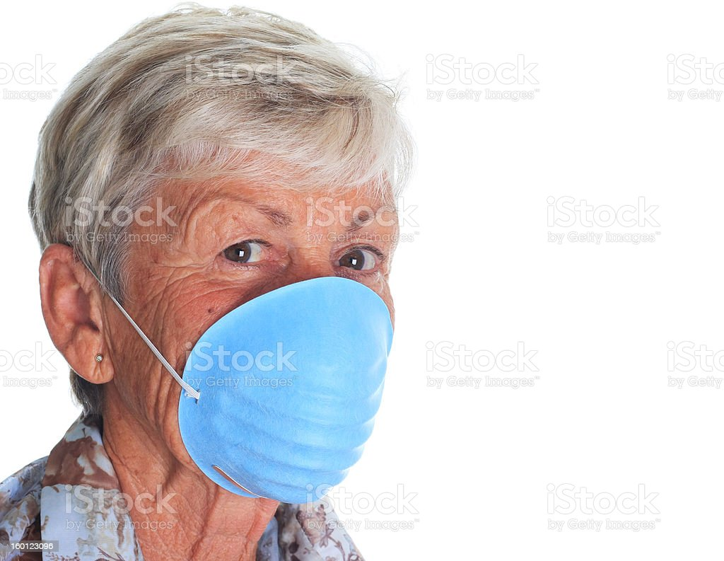 Flu protection royalty-free stock photo