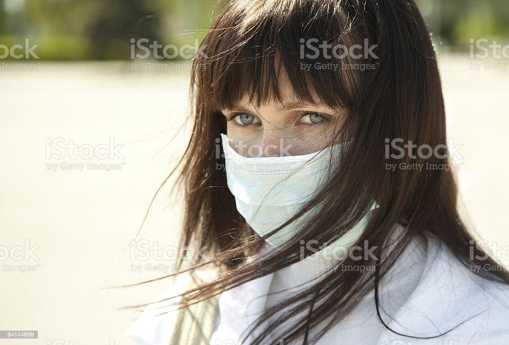 flu protection stock photo