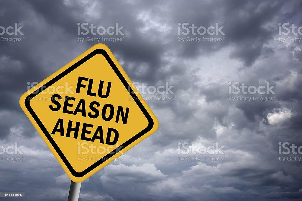 Flu season ahead royalty-free stock photo