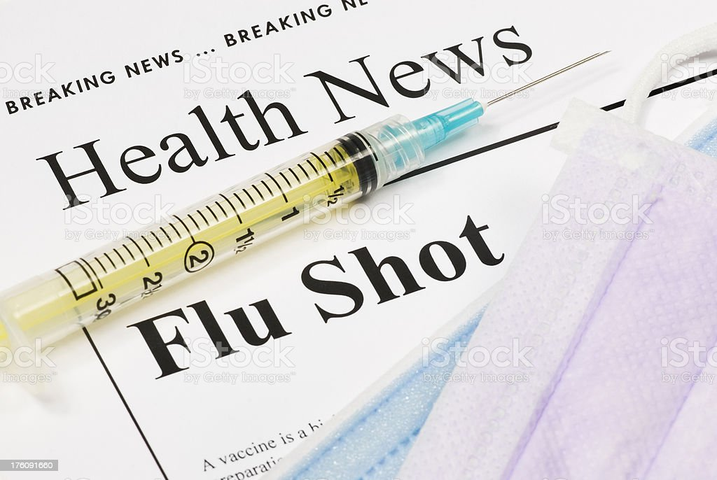 Flu Shot, Vaccination - I royalty-free stock photo