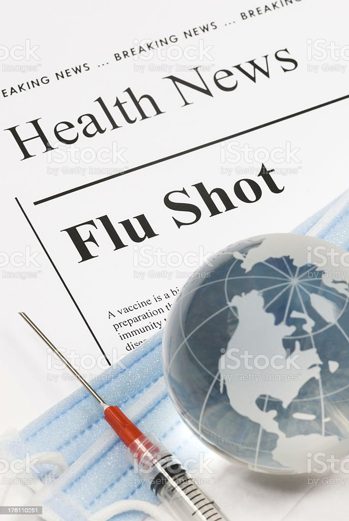 Flu Shot, Vaccination (North America, Americas) - VII stock photo