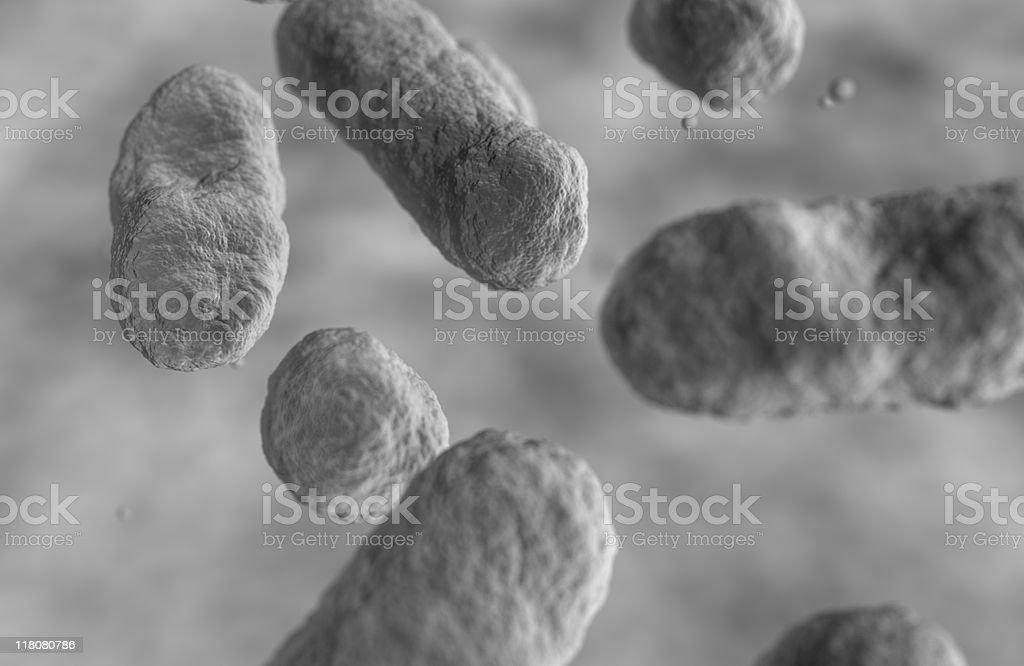 Flu (Swine) Virus, (H1N1) royalty-free stock photo