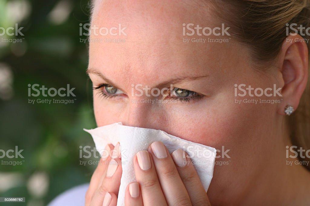 Flu Virus stock photo