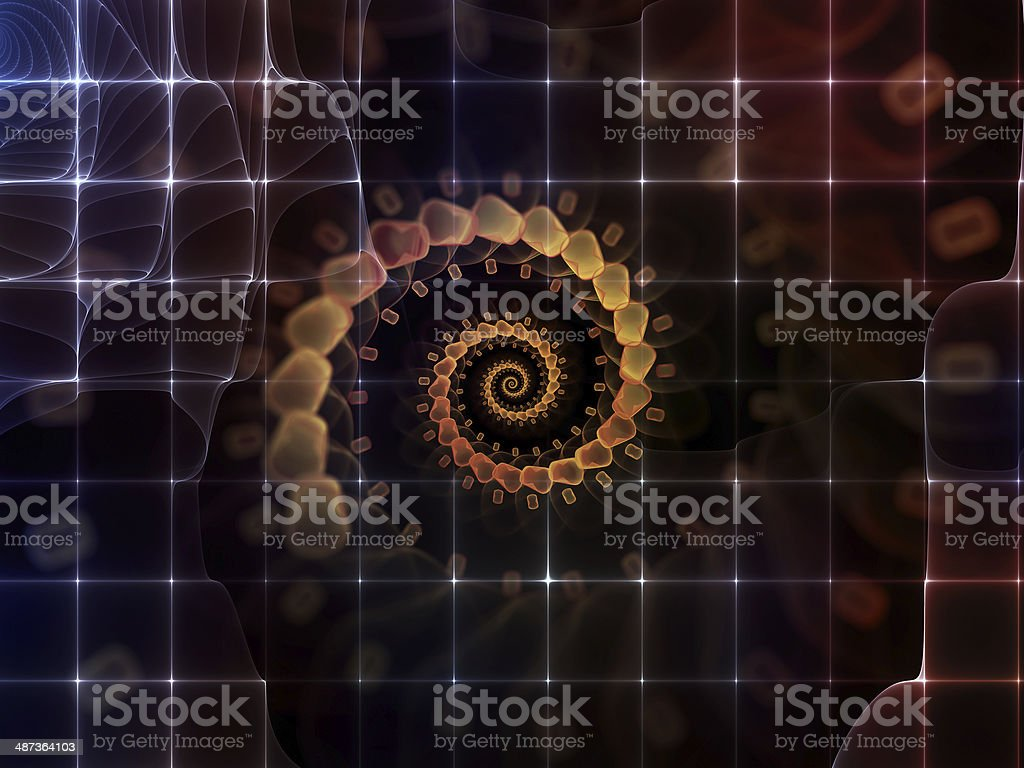 Fluctuation of Emptiness royalty-free stock photo