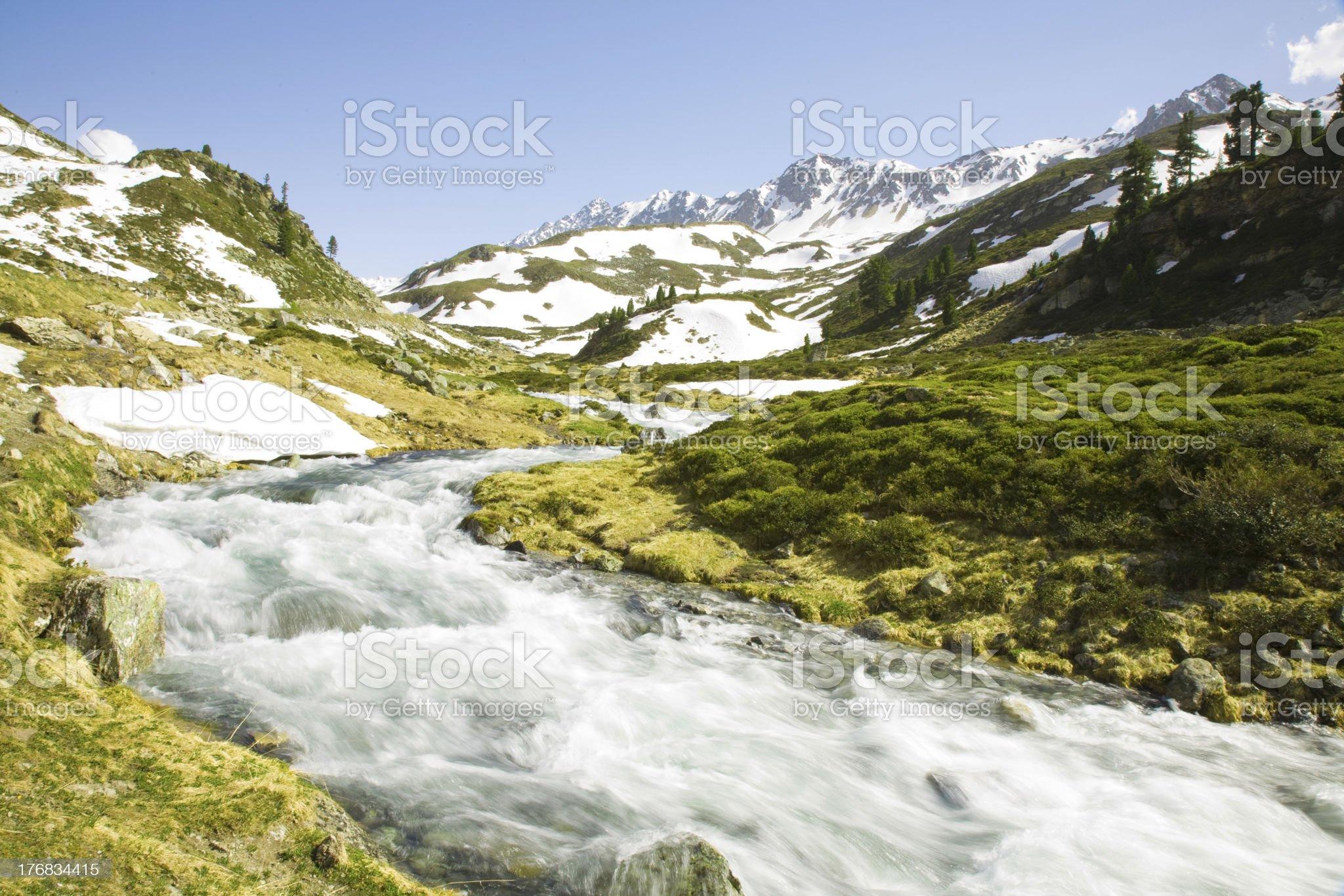 Flueela creek royalty-free stock photo