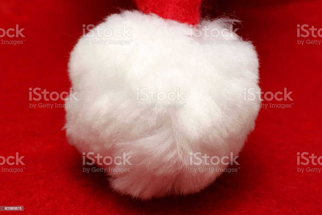 Fluffy Hat stock photo