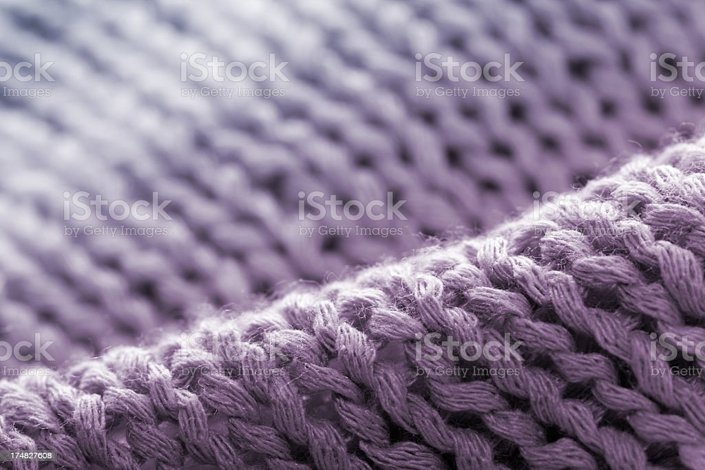 Fluffy Waves of Cotton royalty-free stock photo
