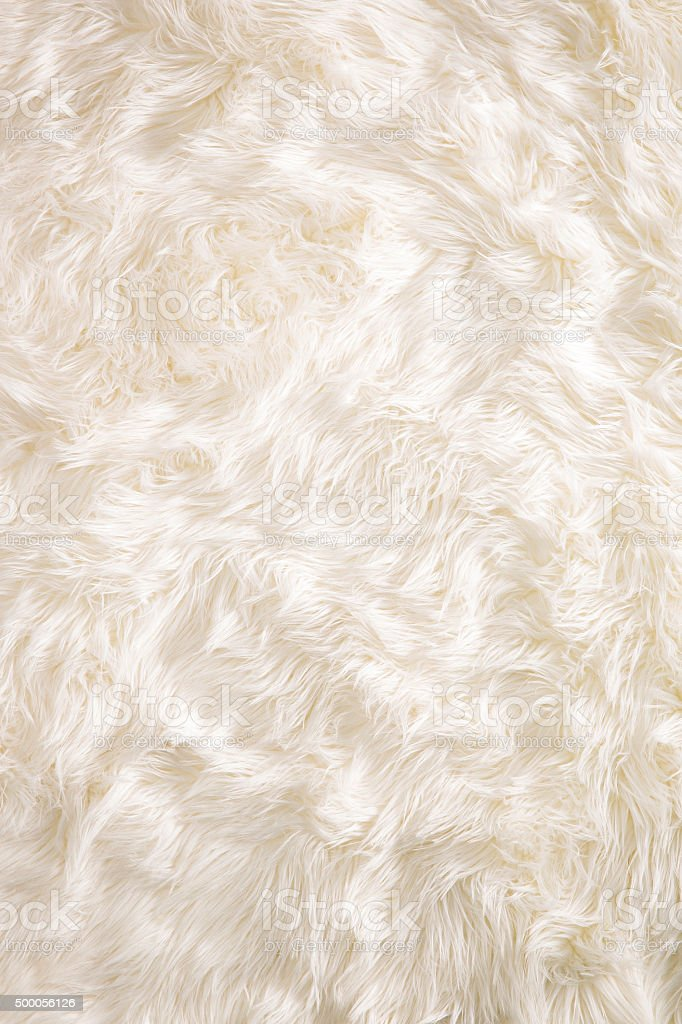Fluffy white background stock photo