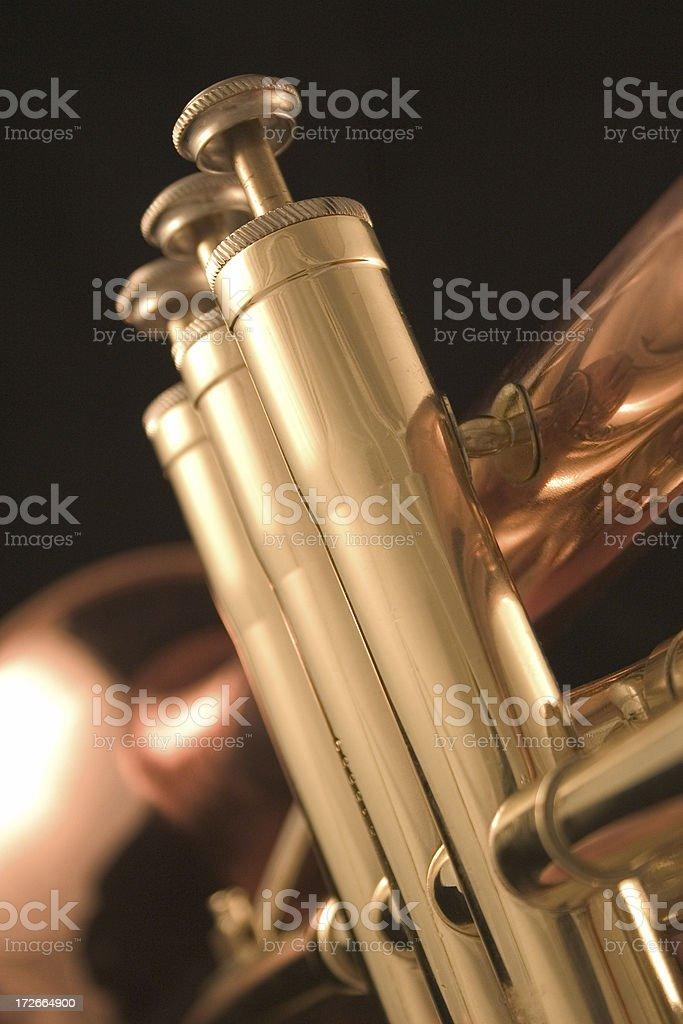 Flugel Horn 3 stock photo