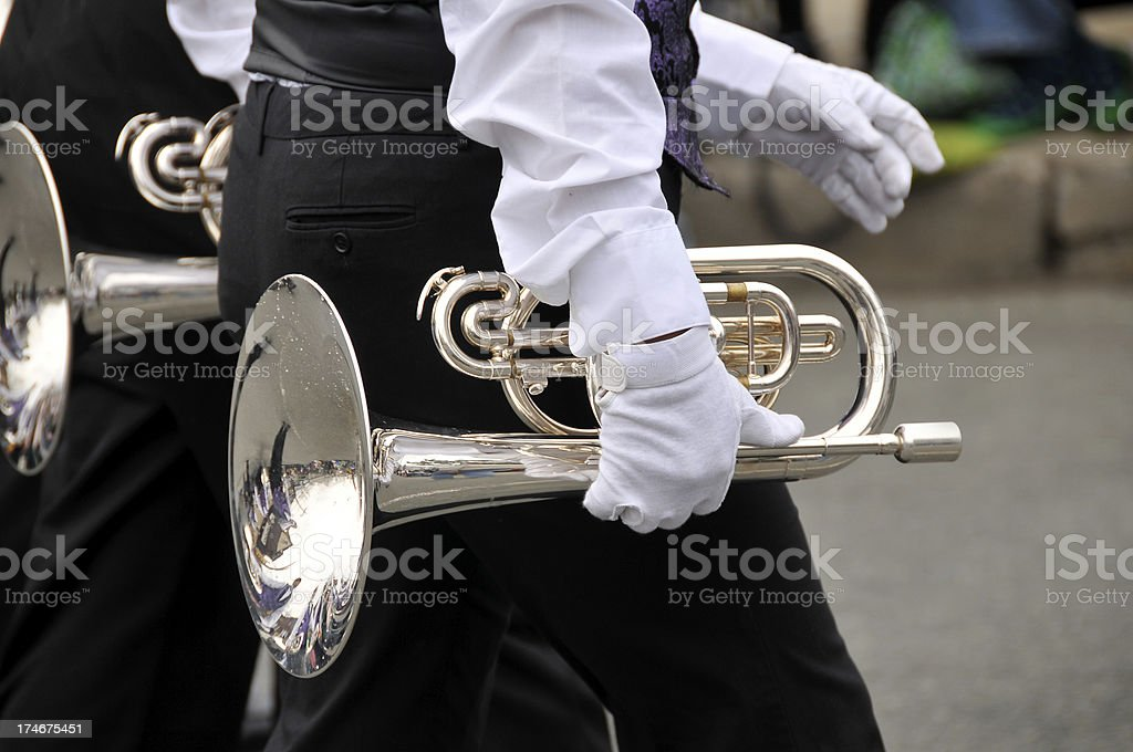 Flugelhorn royalty-free stock photo