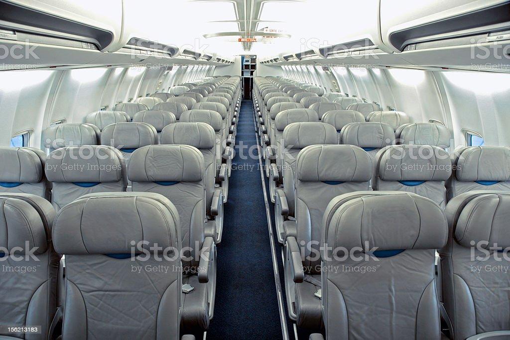 Flugzeugsitze royalty-free stock photo