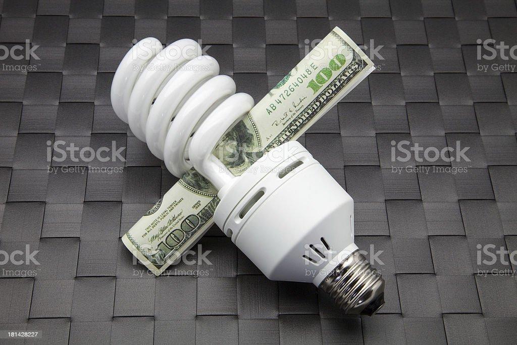 fluorescent bulb royalty-free stock photo