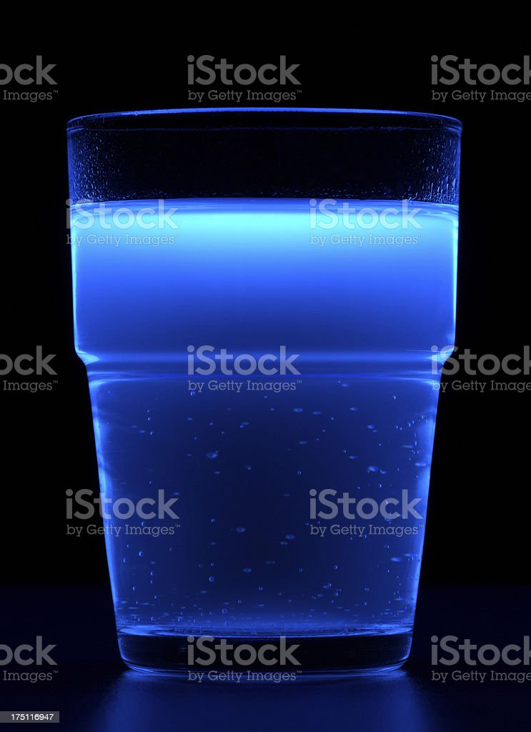 fluorescent drink royalty-free stock photo