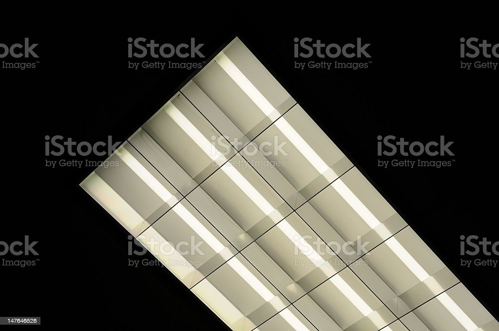 Fluorescent Light stock photo
