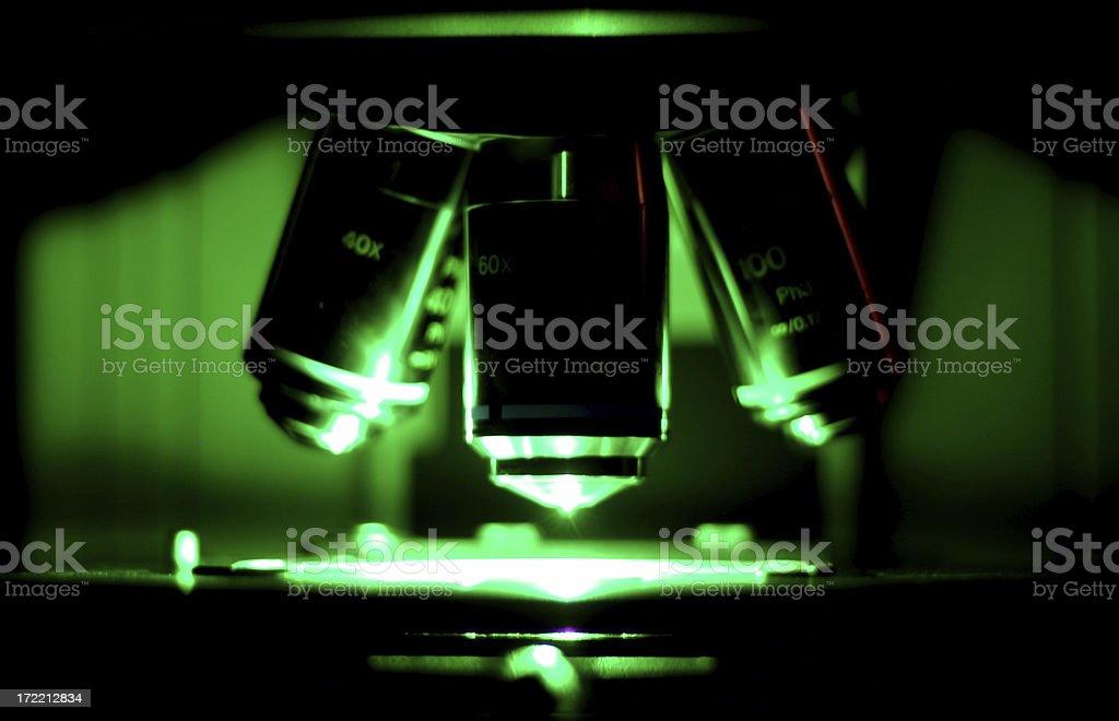 Fluorescent Microscope #3 royalty-free stock photo