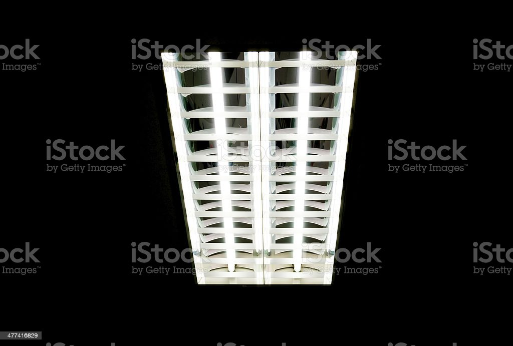 fluorescent tube royalty-free stock photo