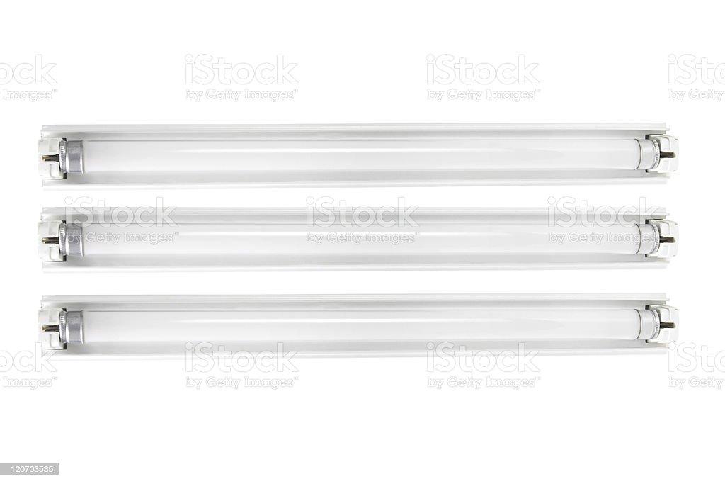 Fluorescent Tubes royalty-free stock photo