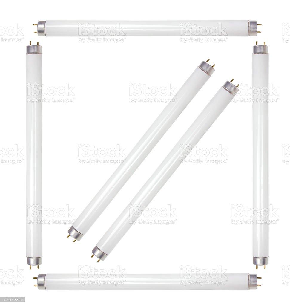 Fluorescent Tubes stock photo