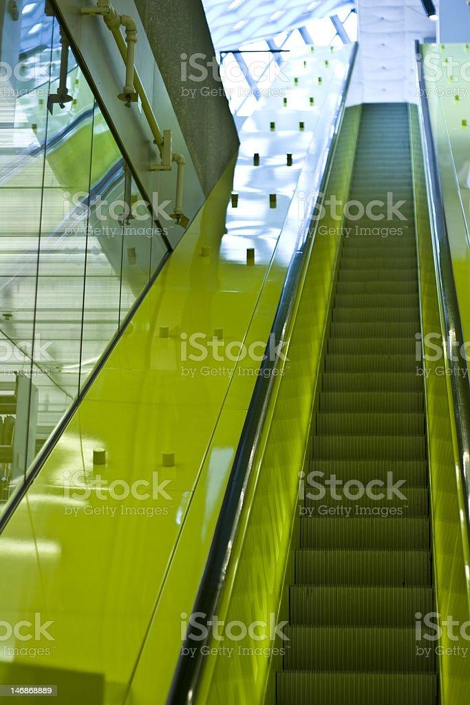 Fluorescent Yellow stock photo