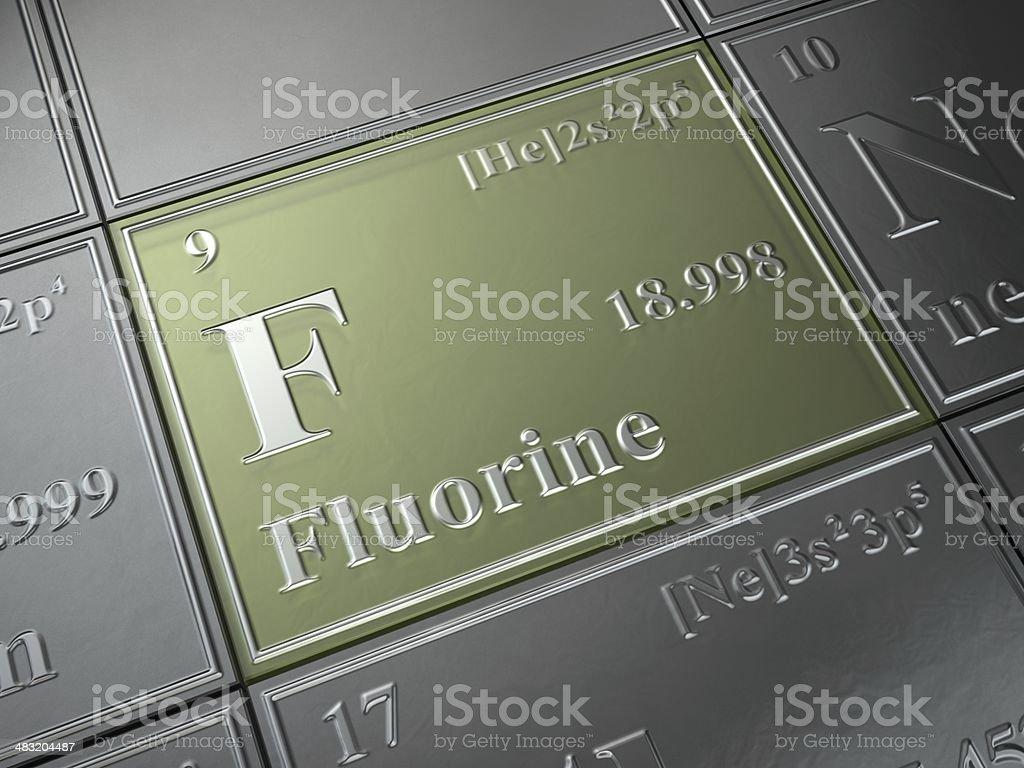 fluorine stock photo