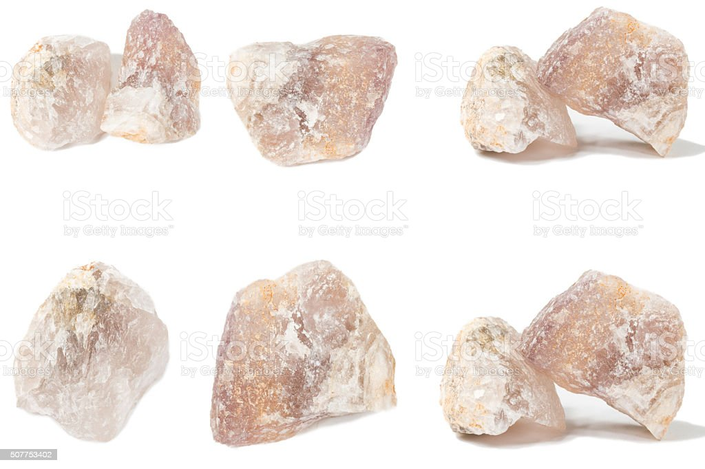fluorite mineral crystal sample for science stock photo