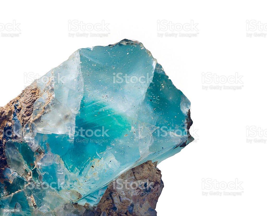 Fluorite stock photo
