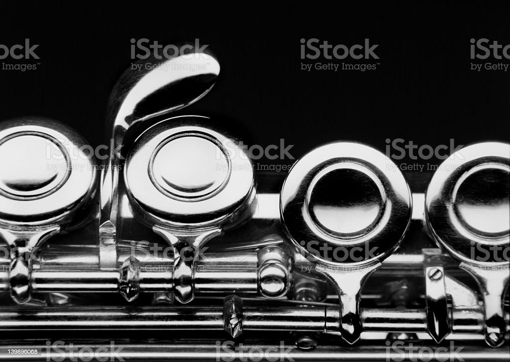 Flauto dolce - flute stock photo