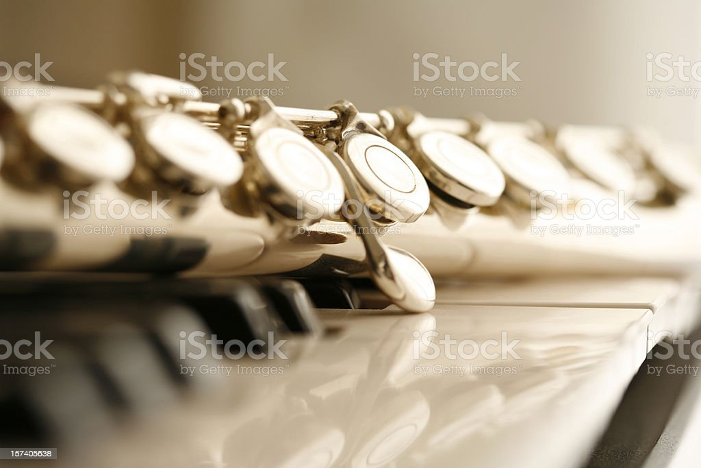 Flute royalty-free stock photo