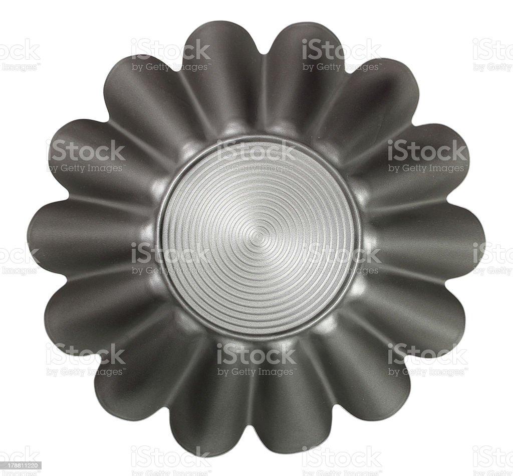 Fluted Cake Tin stock photo