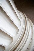 Fluted Column Base Close-Up