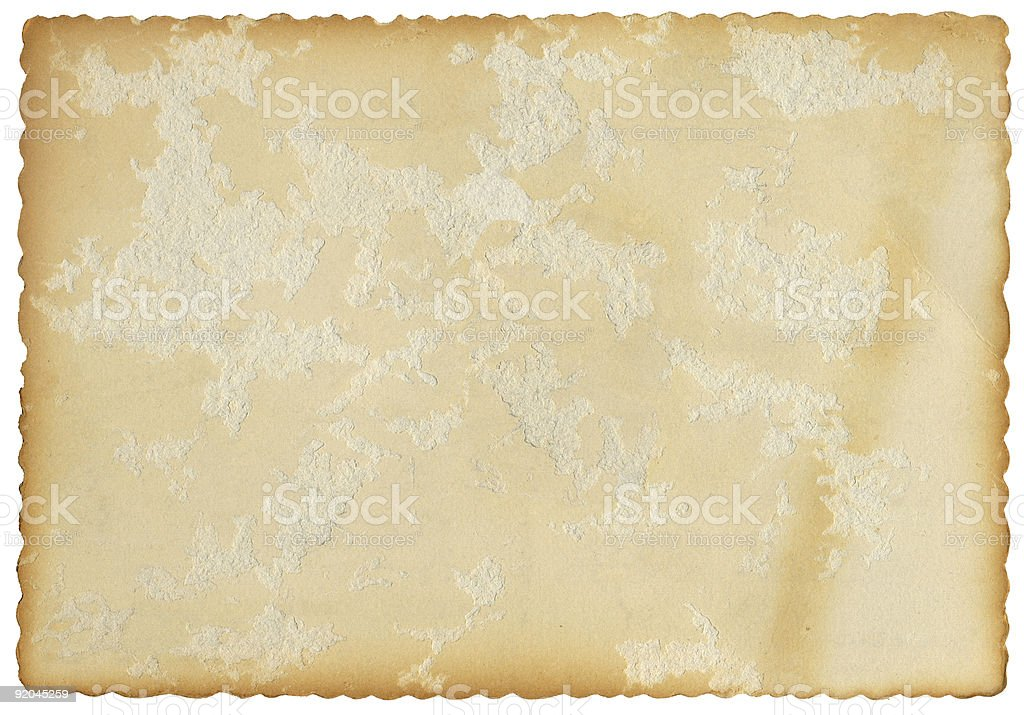 Fluted Edge Card royalty-free stock photo