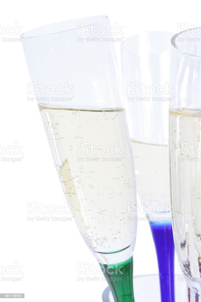 Flutes stock photo