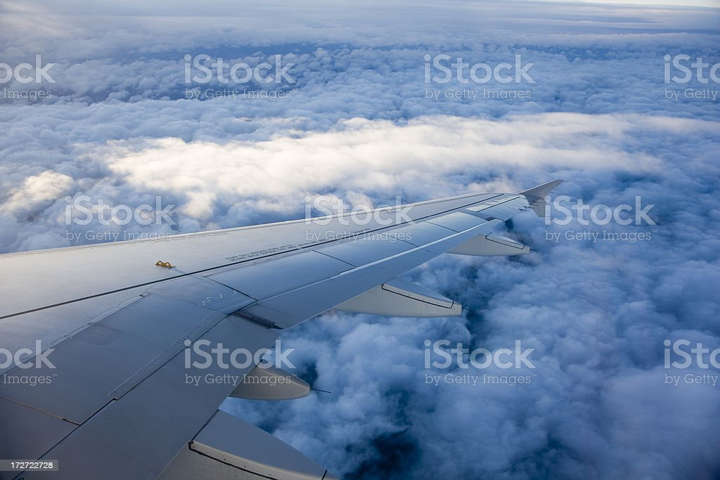 fly above cloud royalty-free stock photo