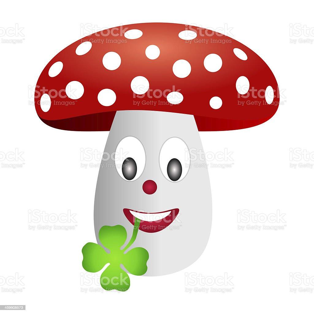 fly agaric mushroom royalty-free stock photo