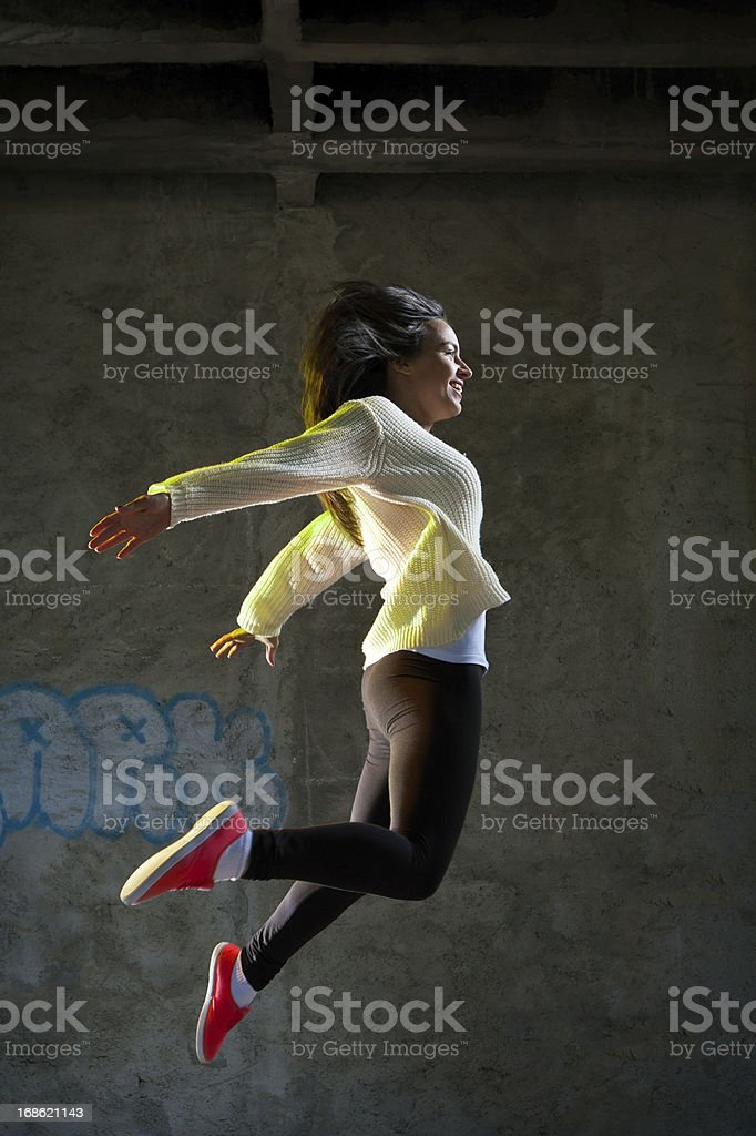 Fly away royalty-free stock photo