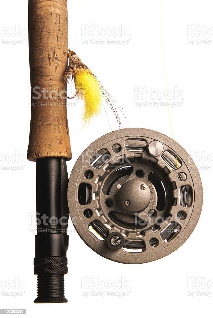 Fly Fishing Reel royalty-free stock photo