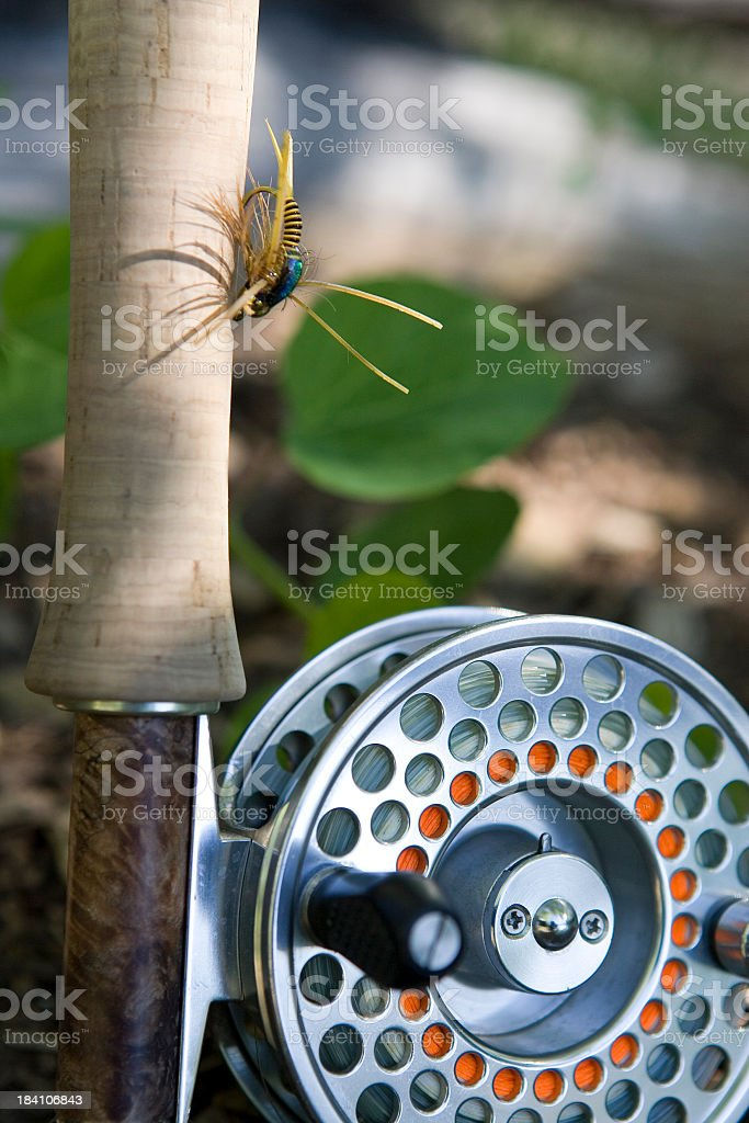 Fly Fishing Rod and Reel-Spencer's Special royalty-free stock photo