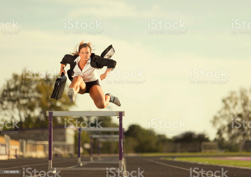 Fly Girl stock photo