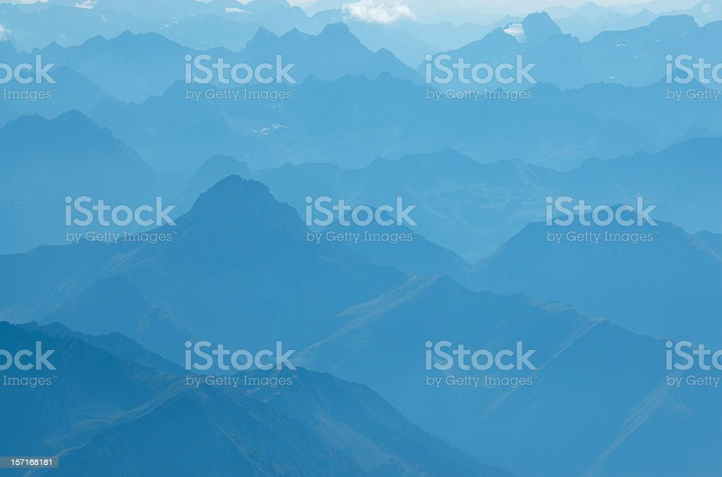 Fly in blue sky royalty-free stock photo