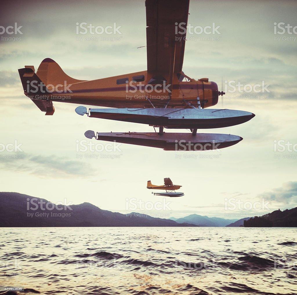 Fly me to Alaska stock photo