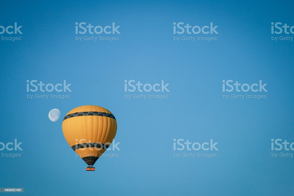 Fly Me to the Moon stock photo